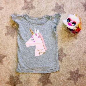 🦄Carter's Unicorn Cotton Top 🦄 4T